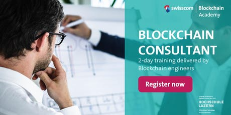 Blockchain Consultant - Expert Training tickets