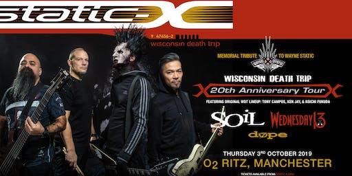 Static-X / Soil / Wednesday 13 / Dope (O2 Ritz, Manchester)