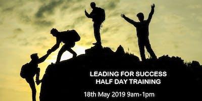 Leading for Success - Half Day Training - Bendigo