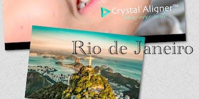 Rio de Janeiro - Curso de Credenciamento - Crystal Aligner™ Alinhador Ortodôntico e Capacitação em Alinhadores