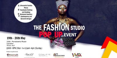 The Fashion Studio Pop up Event - Fashion, Jewellery and Accessories