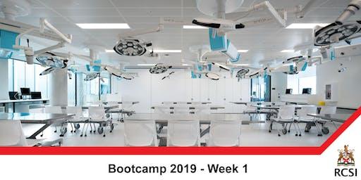 Bootcamp 2019 - Week 1