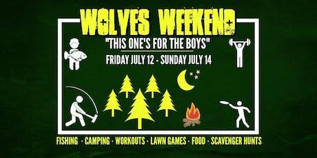 Wolves Weekend: Men's Outdoor Retreat tickets