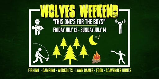 Wolves Weekend: Men's Outdoor Retreat