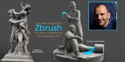 Daniele Angelozzi – Zbrush: scultura finalizzata alla stampa 3D