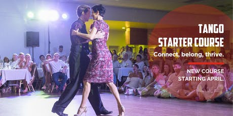 Argentine Tango Starter 8 Week Course. Thursdays from 26 September tickets