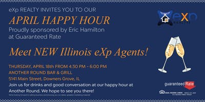Meet and Greet New Illinois eXp Agents Happy Hour with Brian Ernst