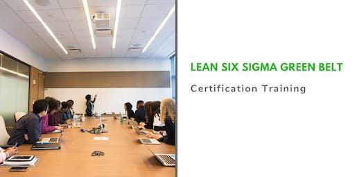 Lean Six Sigma Green Belt Classroom Training in Burlington, VT