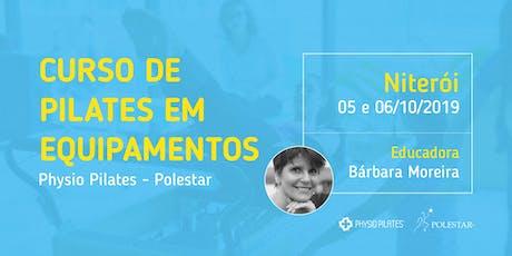 Curso de Pilates em Equipamentos - Physio Pilates Polestar - Niterói ingressos
