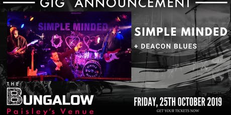 Simple Minded + Deacon Blues tickets