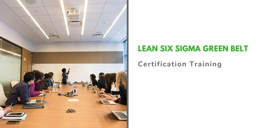 Lean Six Sigma Green Belt Classroom Training in Harrisburg, PA