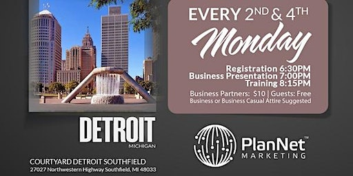 Become A Travel Business Owner-Detroit, MI-4th Monday