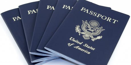 2019 Late Passport Appointments (SELECT A DATE then REGISTER to see times) tickets