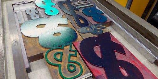 Letterpress: Wood Type Posters