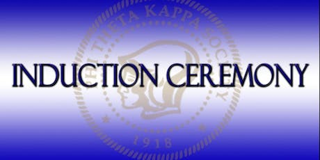 PTK New Member Fall 2019 Induction Ceremony tickets