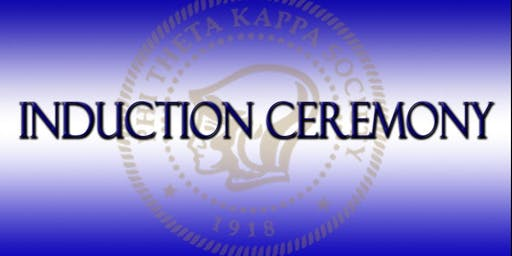 PTK New Member Fall 2019 Induction Ceremony
