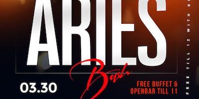 #PowerSaturdays The Big Aries Bash +Free Buffet + Openbar Till 11
