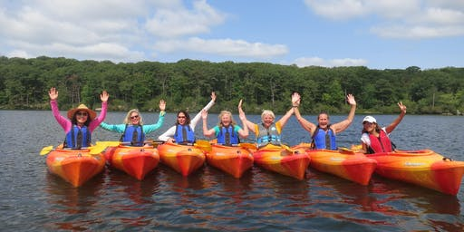 Ladies Canoe & Kayak Weekend at Corman AMC Harriman Outdoor Center