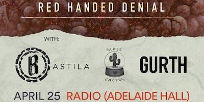 Red Handed Denial Album Release Show w/ Bastila, Glass Cactus & Gurth