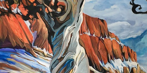 Heather Pant Twisted Tree Acrylics Workshop