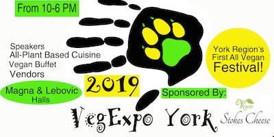 Vegan Expo York Buffet 2019