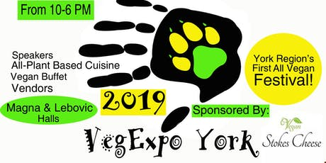 Vegan Expo York Buffet 2019 tickets