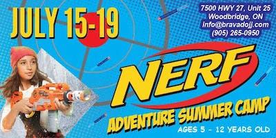 NERF ADVENTURE Summer Camp