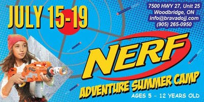 NERF ADVENTURE Summer Camp