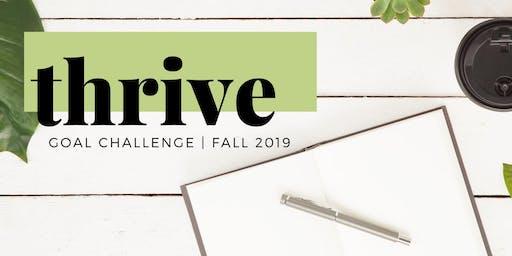 Thrive Goal Challenge 2019