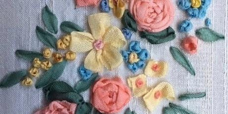 Make Your Mark - SUMMER FLOWERS IN SILK RIBBON EMBROIDERY WITH HEATHER KING tickets