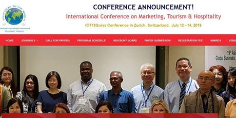 International Conference on Marketing, Tourism & Hospitality (GVC) Tickets