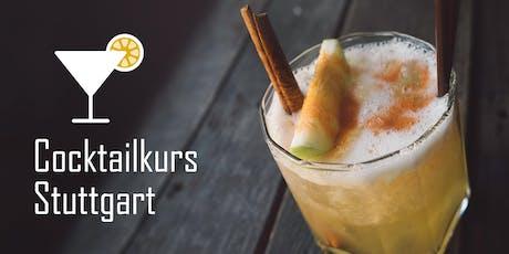 Cocktailkurs Stuttgart (Dezember) Tickets