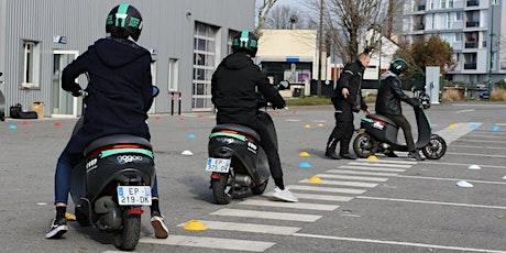 Formation scooter électrique COUP (en intérieur) billets