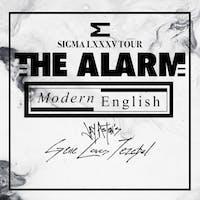 THE ALARM + MODERN ENGLISH + Jay Ashton's GENE LOVES JEZEBEL