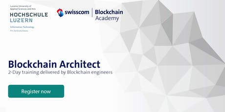 Blockchain Architect - Expert Training tickets