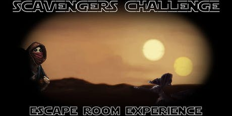 Star Wars:  Scavengers Challenge Escape Room Experience tickets