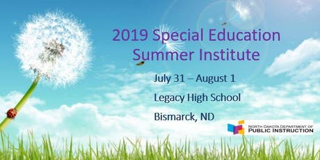 Special Education Summer Institute tickets