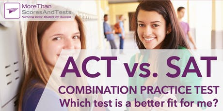 *FREE* ACT-SAT Combo Practice Test & Diagnostic Analysis - Glenview tickets