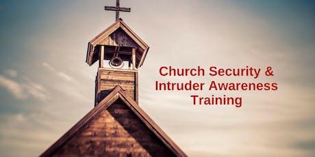 1 Day Intruder Awareness and Response for Church Personnel -Stuttgart, AR tickets