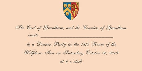 Downton Abbey Dinner tickets