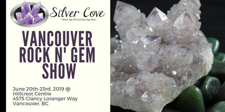 The Vancouver Rock N' Gem Show tickets