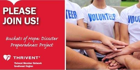Buckets of Hope: Wilmington Hurricane Preparedness Project tickets