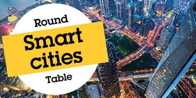 """Axis Communications along with Canon and Leeds Beckett University \""""Smart Cities\"""" round table."""