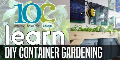 Do it Yourself Container Gardening tickets