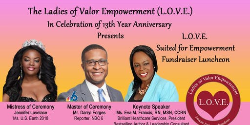 L.O.V.E. Suited For Empowerment Fundraiser Luncheon
