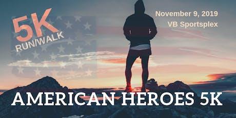 2019 American Heroes 5K tickets