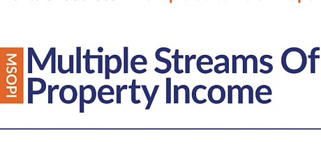 Multiple Streams of Property Income - 3 Day Workshop  bilhetes
