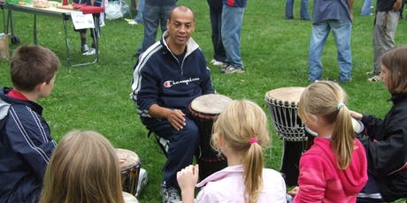 African Drumming and Fun Rhythms Workshop Fairford - Mon 12th Aug 11am-1pm tickets
