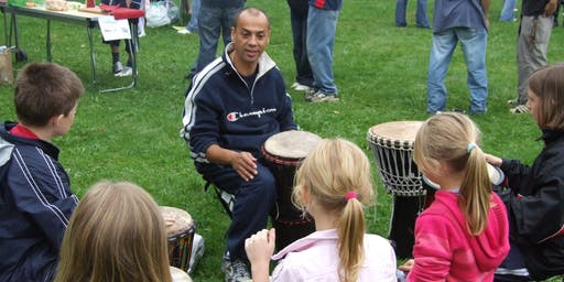 African Drumming and Fun Rhythms Workshop Fairford - Mon 19th Aug 11am-1pm
