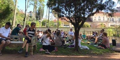 Mindfulness no Parque
